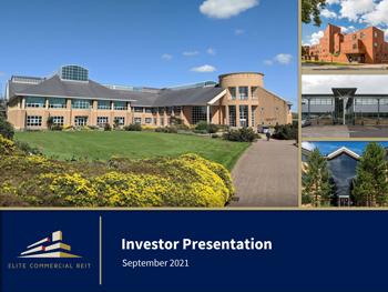 Investor Presentation - September 2021